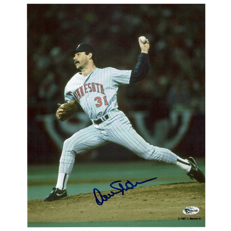 Dan Schatzeder Autographed Minnesota Twins 8x10 Photo
