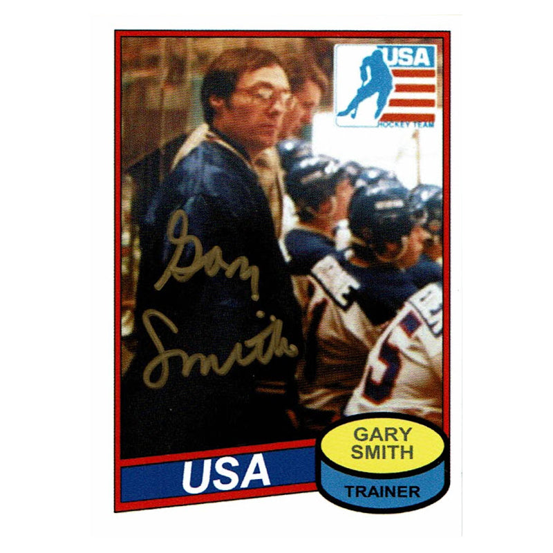 Gary Smith Autograph on a FREE Custom Card!