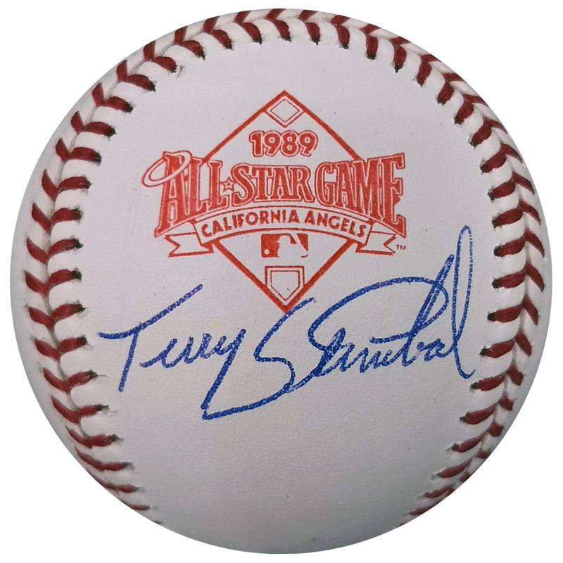 Terry Steinbach Autographed 1989 All Star Game OMLB Baseball Oakland Athletics