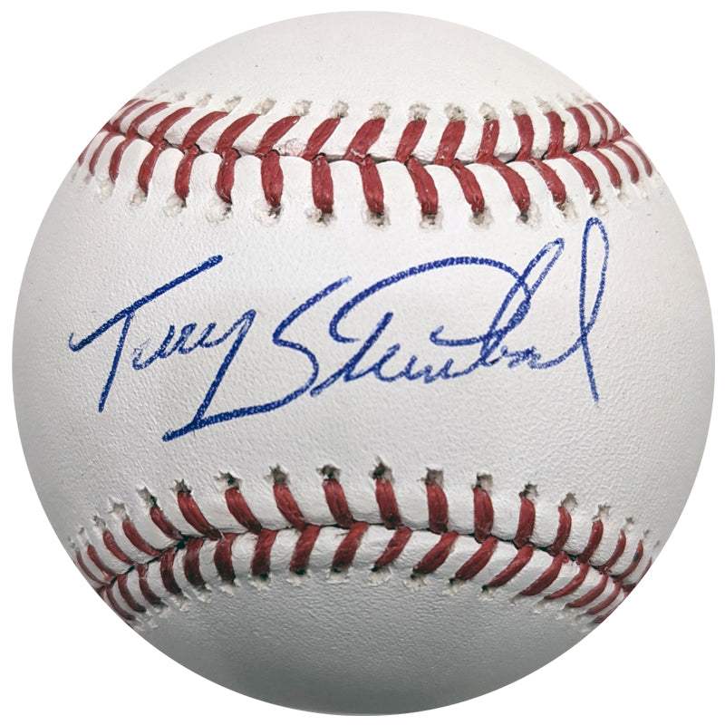 Terry Steinbach Autographed Rawlings Official Major League Baseball OMLB