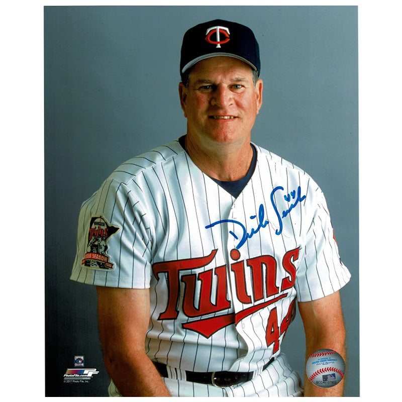 Dick Such Autographed Minnesota Twins 8x10 Photo