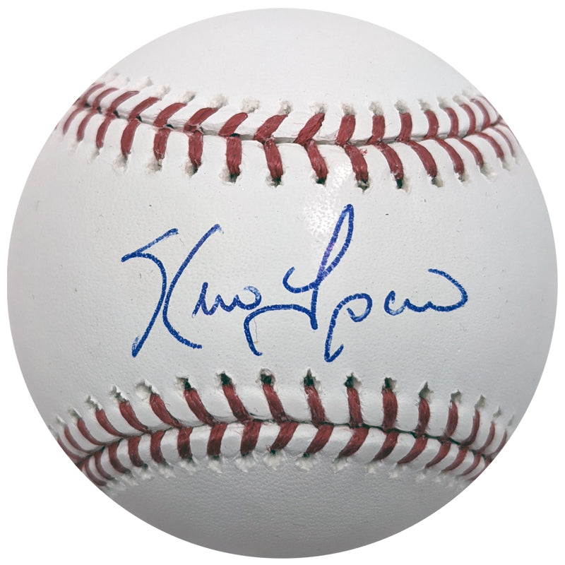 Kevin Tapani Autographed Rawlings Official Major League Baseball Minnesota Twins