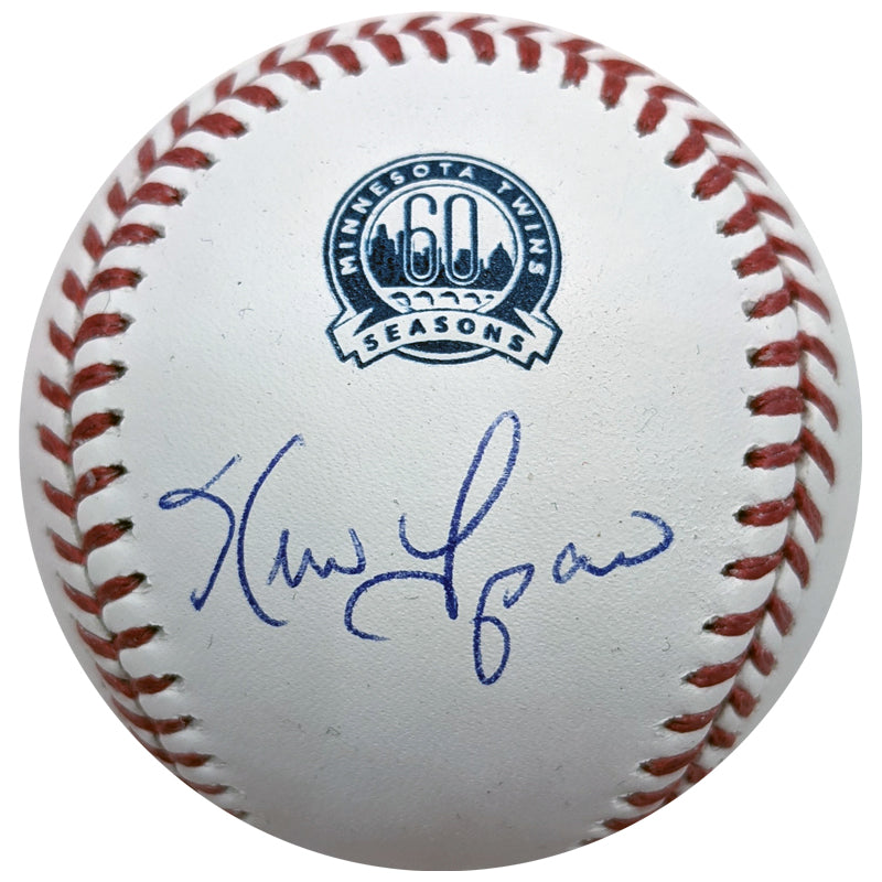 Kevin Tapani Autographed Minnesota Twins 60th Season Baseball