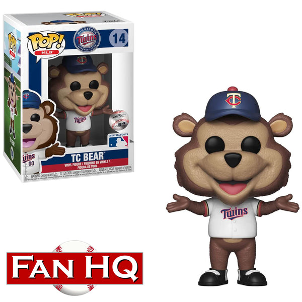 TC Bear Minnesota Twins Mascot Funko Pop! Vinyl Figure
