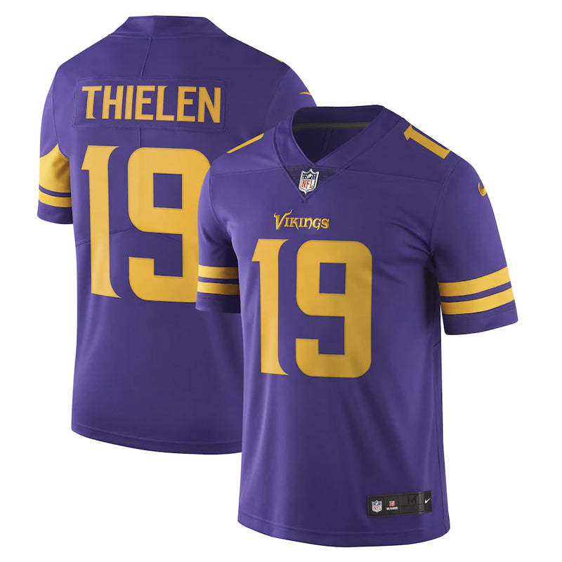 AVAILABLE IN-STORE ONLY! Adam Thielen Minnesota Vikings Primetime Purple Nike Limited Color Rush Jersey