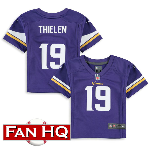 Adam Thielen Infant Minnesota Vikings Purple Nike Jersey