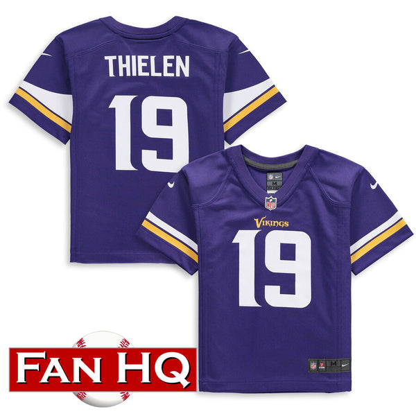 Adam Thielen Kids Minnesota Vikings Purple Nike Jersey