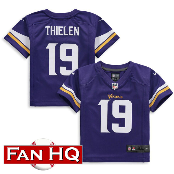 Adam Thielen Toddler Minnesota Vikings Purple Nike Jersey