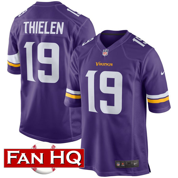 Adam Thielen Youth Minnesota Vikings Purple Nike Game Jersey