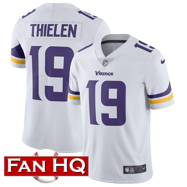Adam Thielen Minnesota Vikings White Nike Limited Jersey