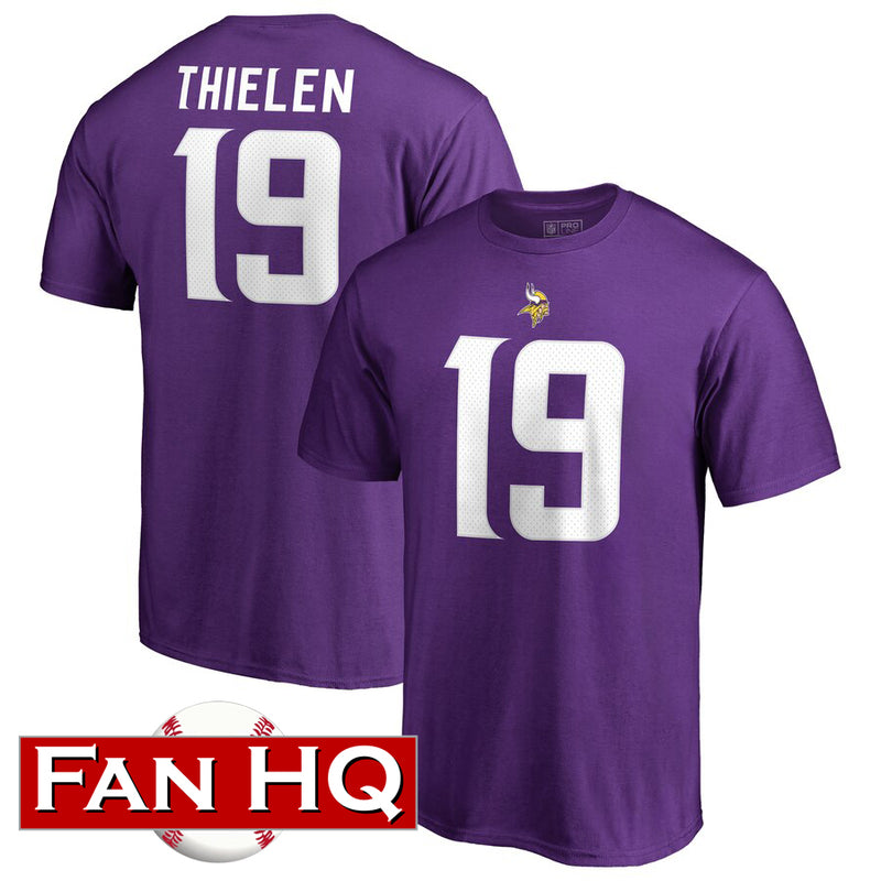 Adam Thielen Minnesota Vikings Player T-Shirt
