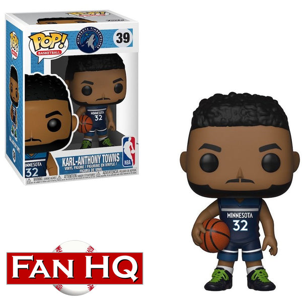 Karl-Anthony Towns Funko Pop! Vinyl Figure Minnesota Timberwolves