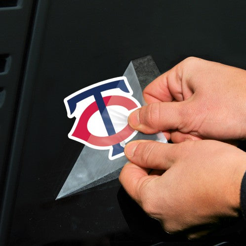 "Minnesota Twins 2-pack 4"" x 4"" Perfect Cut Color Decals"