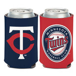 Minnesota Twins Logo 2-Sided 12 oz. Can Cooler