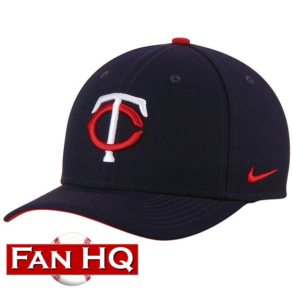 Minnesota Twins Nike Navy Wool Classic Dri-Fit Hat