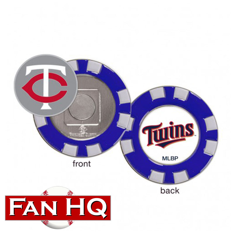 Minnesota Twins Golf Poker Chip Ball Marker