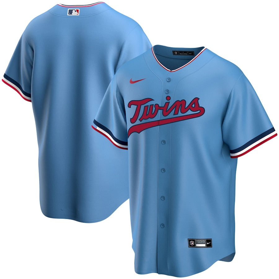 AVAILABLE IN-STORE ONLY! Minnesota Twins Nike 2020 Light Blue Replica Jersey