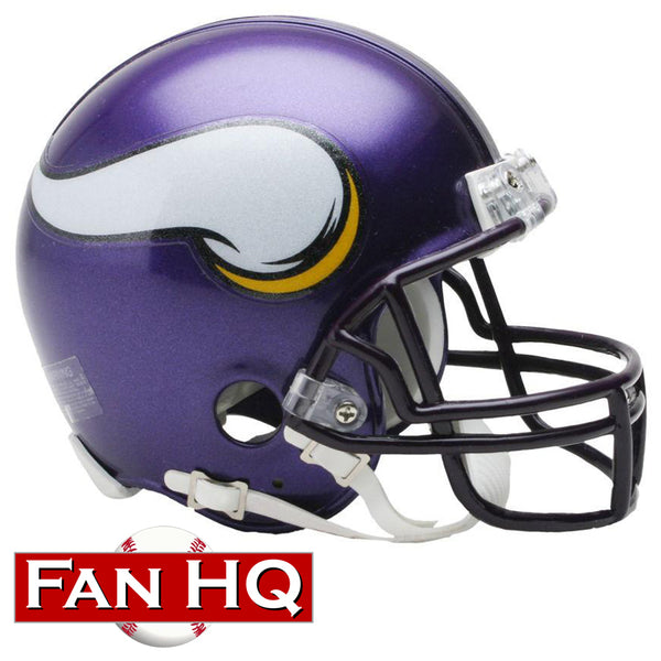 Minnesota Vikings 2006-12 Throwback Riddell VSR4 Mini Helmet