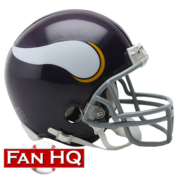 Minnesota Vikings 1961-79 Throwback Riddell VSR4 Mini Helmet