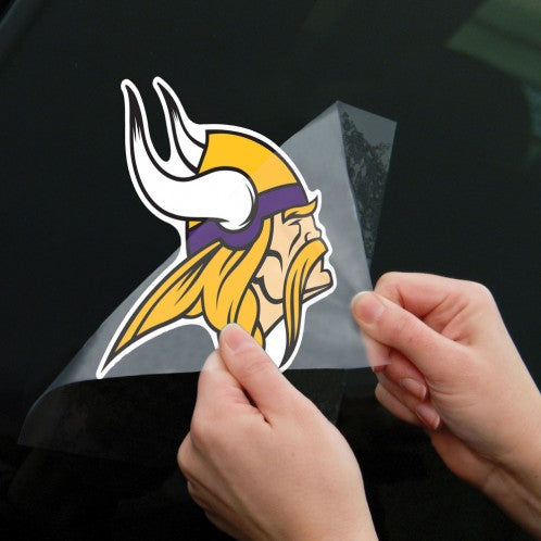 "Minnesota Vikings 8"" x 8"" Perfect Cut Color Decal"