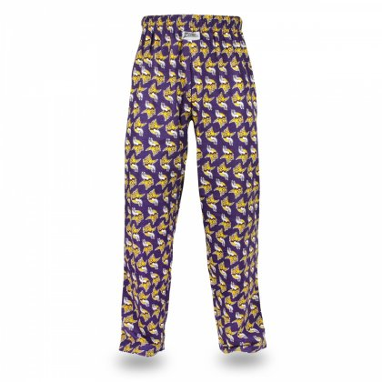 Minnesota Vikings Zubaz Logo All-Over Print Comfy Pants