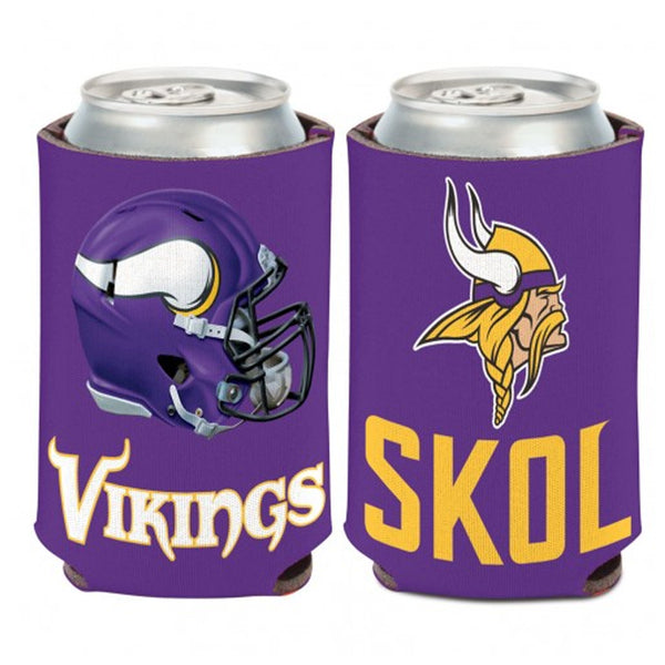 Minnesota Vikings SKOL 2-Sided 12 oz. Can Cooler