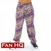 Minnesota Vikings Zubaz Zebra Pants