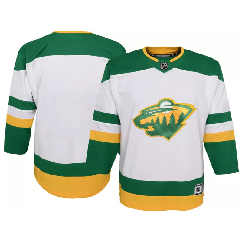 Minnesota Wild Youth Reverse Retro Replica Jersey
