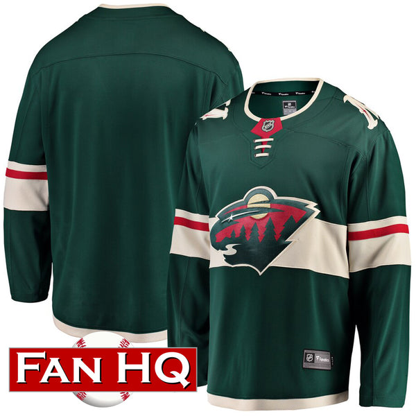 Minnesota Wild Home Green Breakaway Replica Jersey