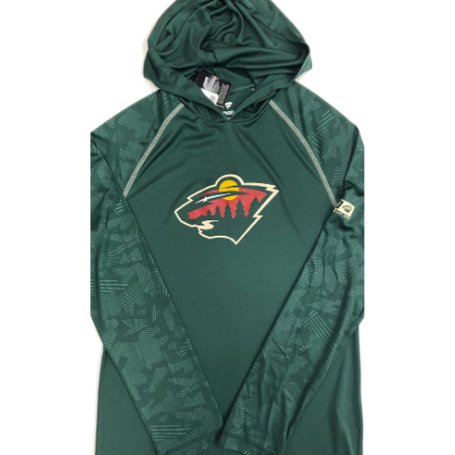Minnesota Wild Green Fanatics Lightweight Hoodie