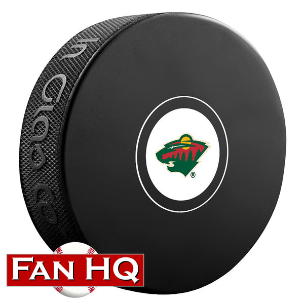 Minnesota Wild Logo Hockey Puck w/ Case