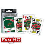 Minnesota Wild Playing Cards