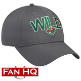 Minnesota Wild Adidas Culture Speed Arch Slouch Adjustable Hat
