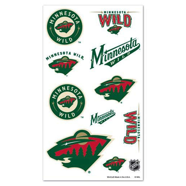 Minnesota Wild Temporary Tattoos