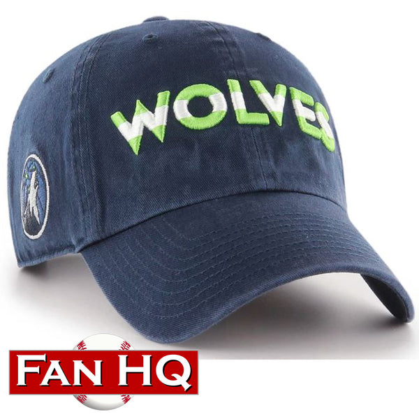 Minnesota Timberwolves '47 Clean Up Navy Jersey Hat