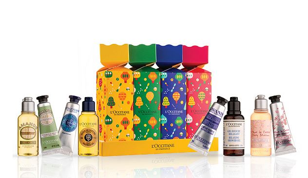 L'Occitane de Provence Christmas Crackers Skin Care Bath and Body Party Favors