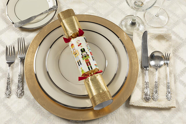 Traditional Nutcracker Party Favor Popper Christmas Crackers