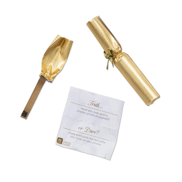 Mini Gold Medallion Decorations for Table Party Favor Crackers