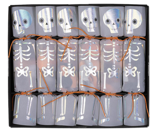 Halloween Day of the Dead Skeleton Confetti Party Favor Popper Christmas Crackers
