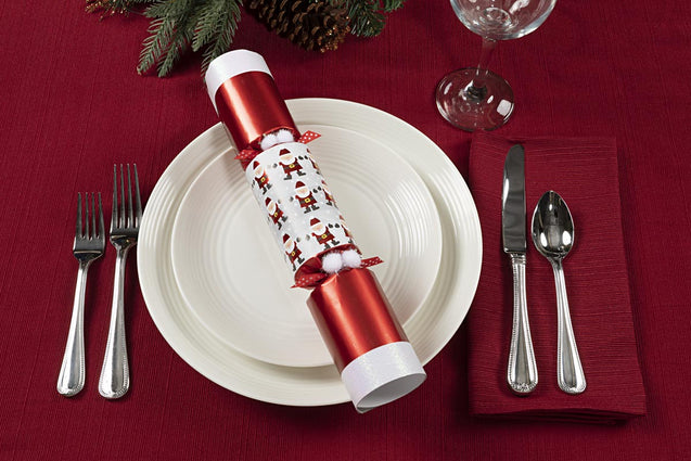 Racing Santa's Party Favor Popper Christmas Cracker