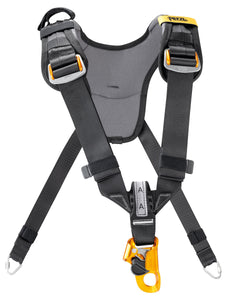 Chest Harness Black and yellow