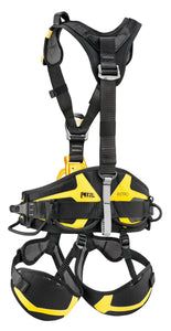 black and yellow TOP CROLL® L show with lower black and yellow harness