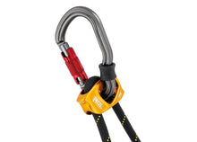 Load image into Gallery viewer, Double adjustable progression lanyard focused on the rope adjuster
