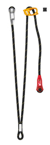 Double adjustable progression lanyard