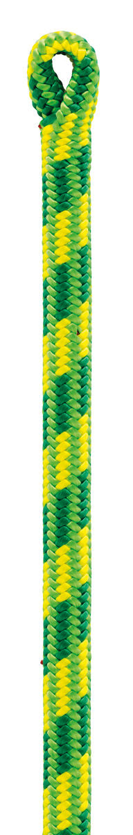 Green and yellolw rope