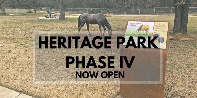 Phase 4 of Heritage Park is now open