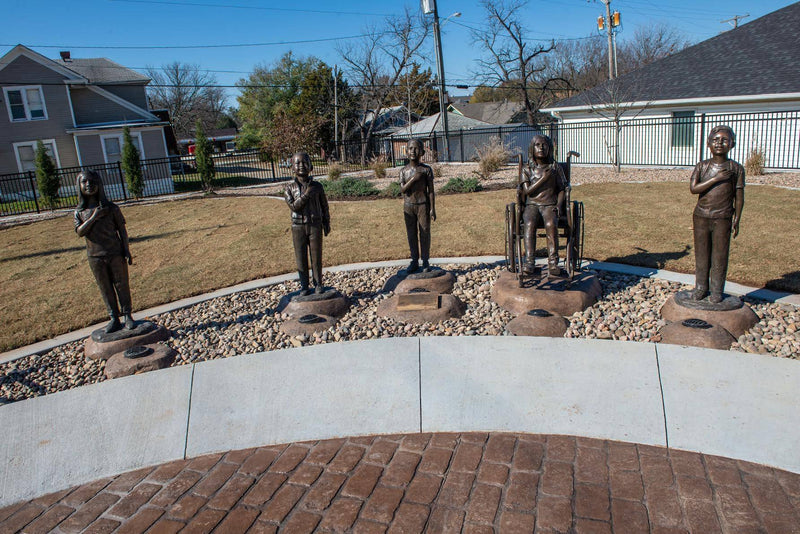 Diversity Statues In Independence Kansas