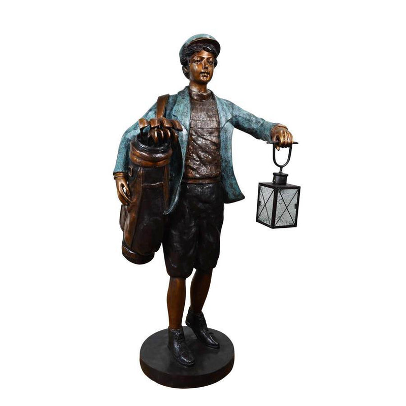 Golf Tips Bronze Statue