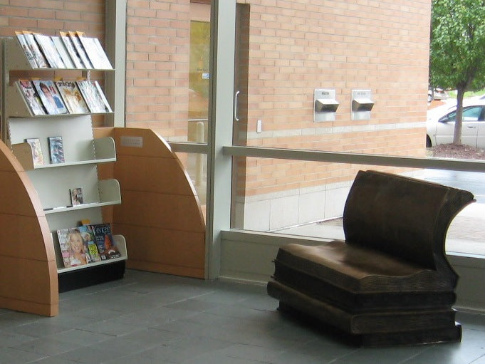 Stacks of Book Bench