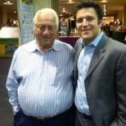 Harlan and Tommy Lasorda